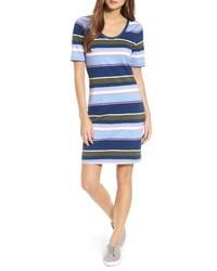 Tommy Bahama Stripe Scoop Neck Dress