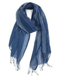 Stripe organic cotton scarf medium 4354382