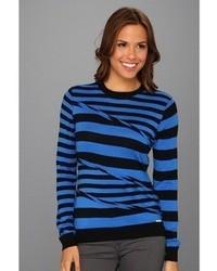 MICHAEL Michael Kors Michl Michl Kors Seamed Stripe Sweater