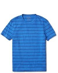 Calvin Klein Classic Fit Striped City Slub T Shirt