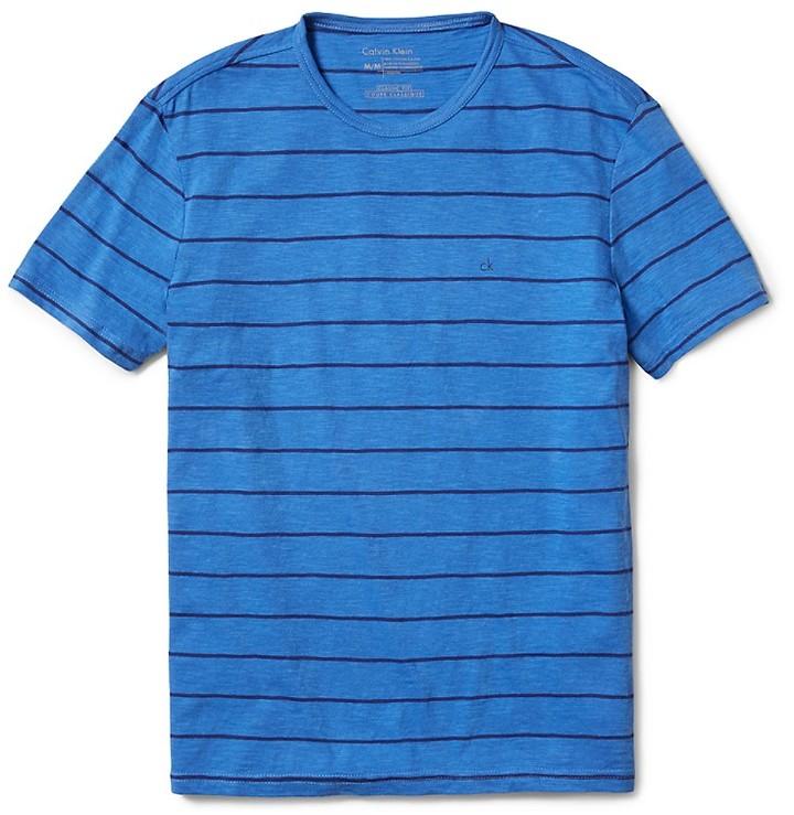 0cf138563626 Calvin Klein Classic Fit Striped City Slub T Shirt, $29 | Calvin ...