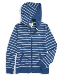 Original Penguin Boys Stripe Zip Hoodie