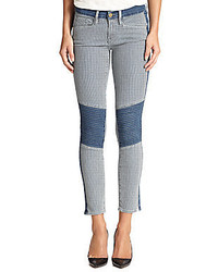 Frame Denim Le Skinny Railroad Stripe Jeans