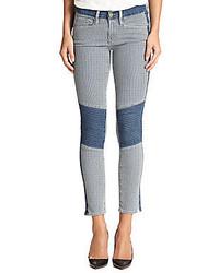 Le skinny railroad stripe jeans medium 335793