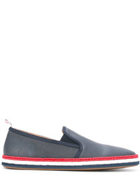 Thom Browne Striped Trim Espadrilles