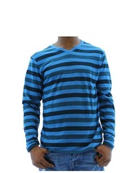 F.U.S.A.I. Fusai Long Sleeve T Shirt Striped Tee Shirt