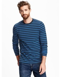 Old Navy Soft Washed Striped Crew Neck Tee For