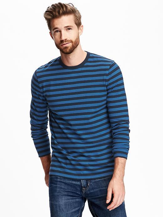 1d6dc158 ... Long Sleeve T-Shirts Old Navy Soft Washed Striped Crew Neck Tee For ...