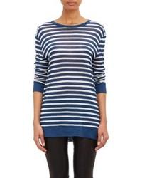 T by stripe long sleeve t shirt medium 181943