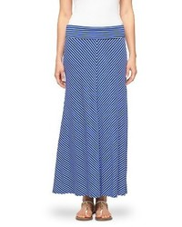 Merona Striped Maxi Skirt