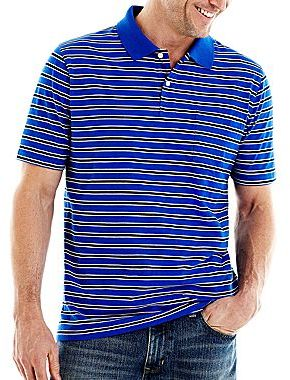 Jcpenney st johns bay bar striped polo shirt for Jcpenney ladies polo shirts