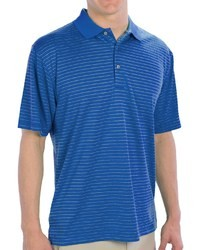 PGA Tour Striped Polo Shirt