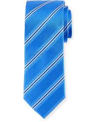 Bugatchi Stripe Weave Silk Tie