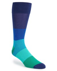 Calibrate Blocked Ombre Socks