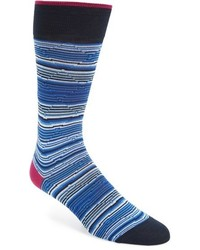 Bugatchi Diamond Stripe Socks