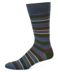 Paul Smith Rainbow Block Striped Socks