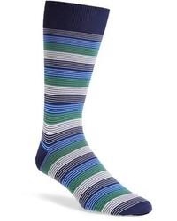 Canali Stripe Socks