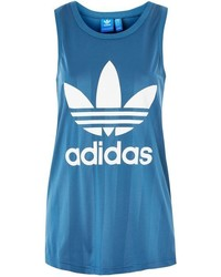 adidas Originals Stripe Trefoil Tank Top