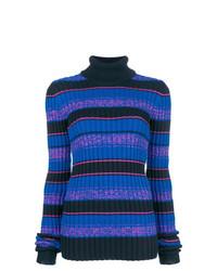 Maison Margiela Striped Turtle Neck Sweater