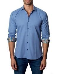 Jared Lang Houndstooth Sport Shirt
