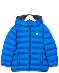 Armani Junior Hooded Padded Jacket