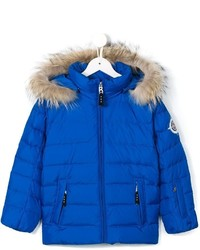 Bogner Kids Padded Fur Trim Coat