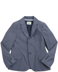 Fendi Cotton Linen Blend Jacket