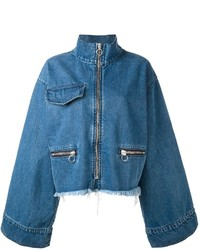 MARQUES ALMEIDA Marquesalmeida Flared Sleeves Zipped Jacket