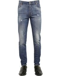 Givenchy 155cm Destroyed Cotton Denim Jeans
