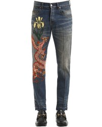 Gucci 175cm Dragon Stone Washed Jeans