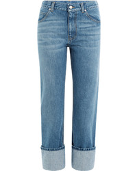 Alexander McQueen Turn Up Boyer Jeans
