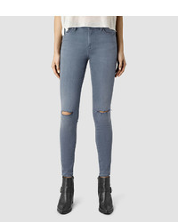 AllSaints Grace Slashed Jeans