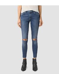 AllSaints Stilt Cropped Jeans