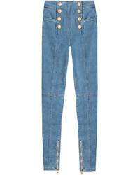 Balmain High Waisted Jeans