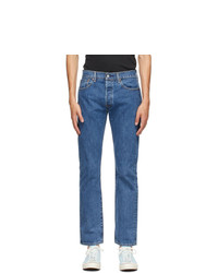 Levis Blue 501 Original Fit Jeans