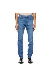 AMI Alexandre Mattiussi Blue Ami Fit Jeans