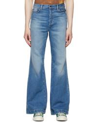 Acne Studios Blue Bootcut Jeans