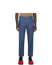 Valentino Blue Cargo Jeans
