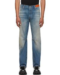 Heron Preston Blue Hammer Holder Jeans