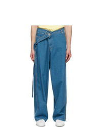Lanvin Blue Large Jeans