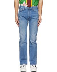 Valentino Blue Levis Edition Denim 517 Jeans