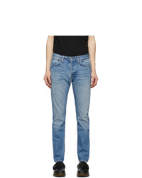 RE/DONE Blue Light Slim Fit Jeans