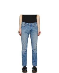 RE/DONE Blue Light Slim Fit Jeans