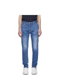 DSQUARED2 Blue Sexy Mercury Proper Wash Jeans