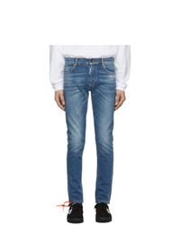 Off-White Blue Slim Jeans