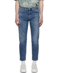 Acne Studios Blue Slim Tapered Jeans