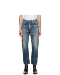 Saint Laurent Blue Staight Cut Jeans