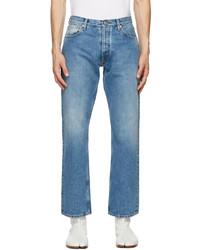 Maison Margiela Blue Straight Leg Jeans