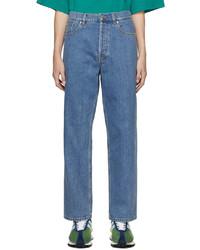 Lanvin Blue Straight Leg Jeans