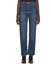 Chloé Blue Straight Leg Jeans